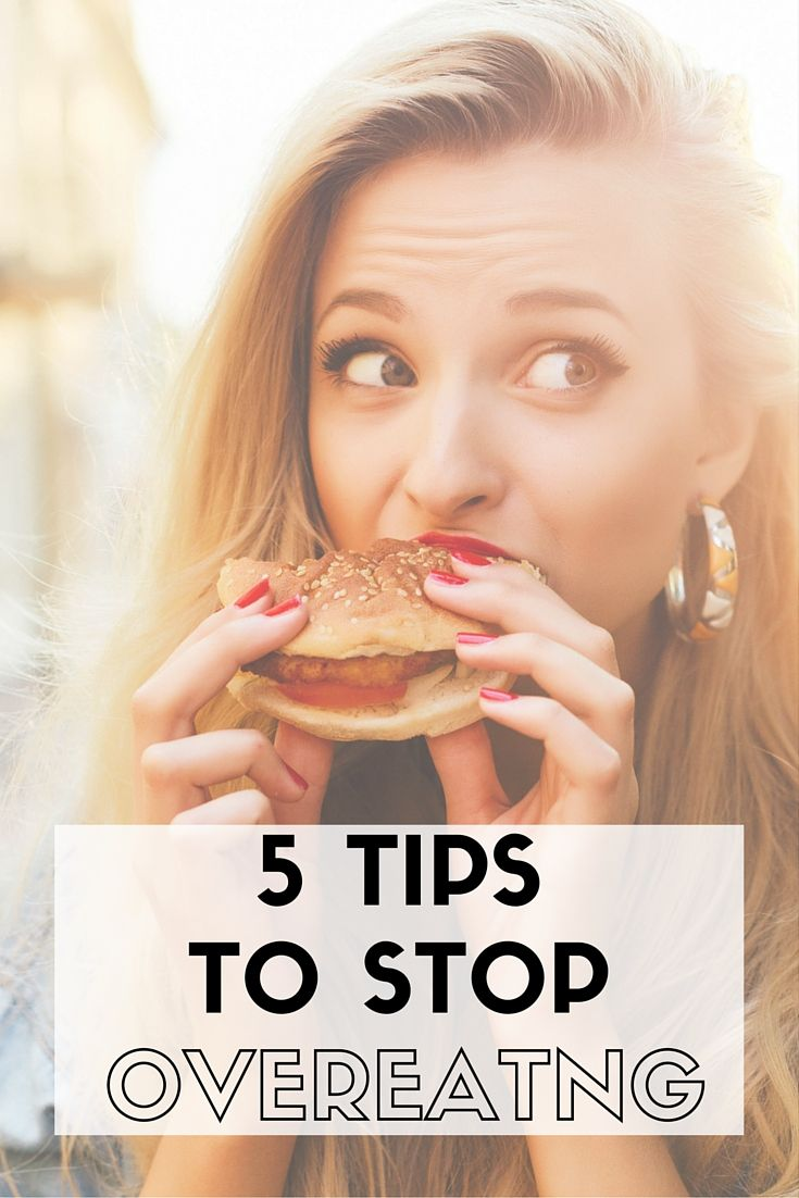 how to stop yourself from eating so much