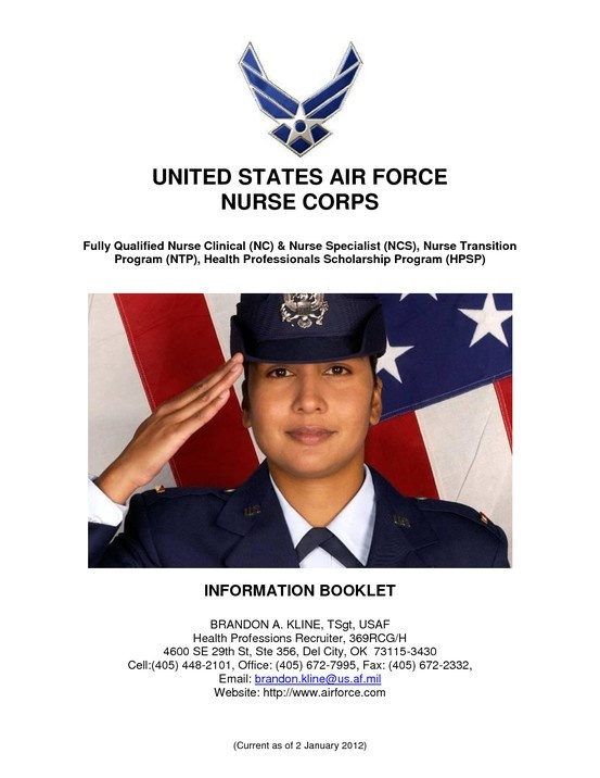 Join! Become an Air Force Nurse