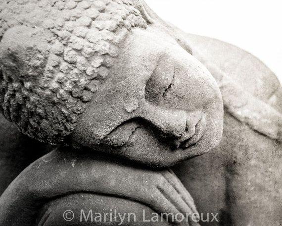Zen Art  Peaceful Art  Meditation Artwork  by ChasedByBeauty