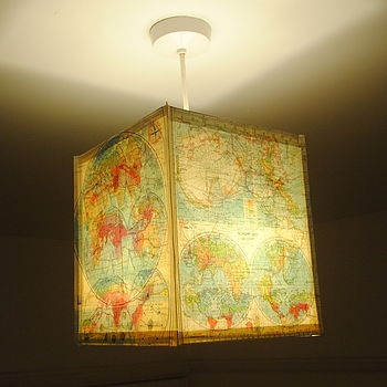 178 best the map room images on pinterest cards map globe and world map square paper lamp shade gumiabroncs Images