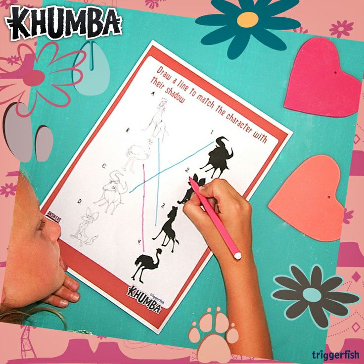 Psst. Khumba Kids, Earned your stripes yet??   Try this -Can you match the silhouette- activity today. ;)  Have you visited the Kidzone on the Website yet? Plenty of Activities to download for the weekend!  Website: www.khumbamovie.com