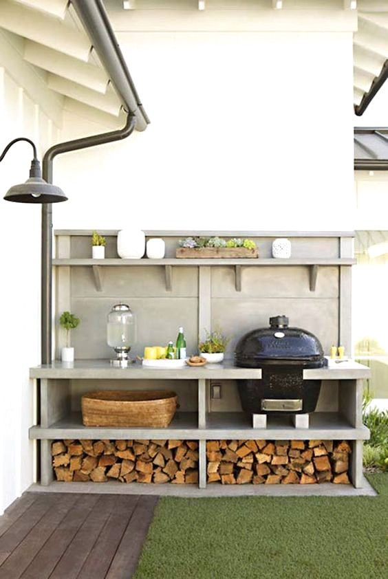 31 Entertainment Outdoor Kitchen Bar Ideas For Family Gathering Place Small Outdoor Kitchen Design Modern Outdoor Kitchen Outdoor Kitchen