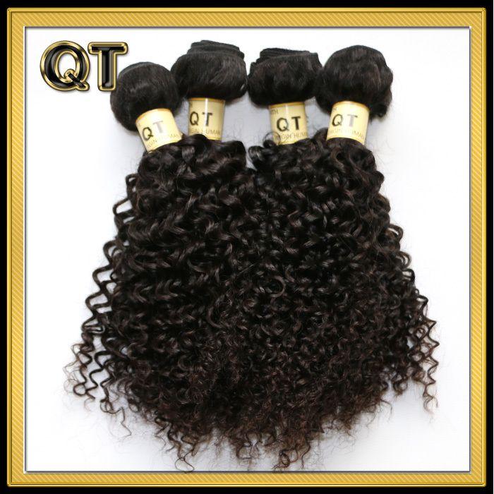 """Любые товары из Китая ! - Покупайте """"продукты Королева волос Малайзии кудрявый парик волос 5 пучки горячая распродажа необработанные Малайзии вьющиеся переплетения Бесплатная доставка"""" всего за 90.46 долл."""