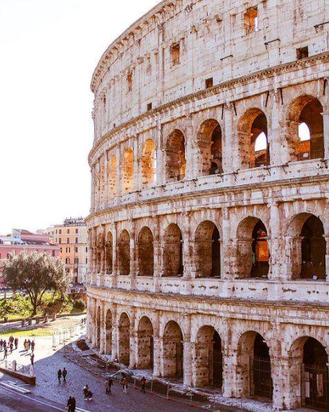 I wanna walk through the Colosseum again!