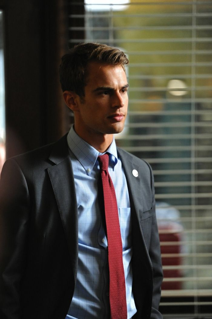 Theo James as Detective Walter Clark in Golden Boy. Just finished watching all 13 eps. Good work Theo. Too bad the show was cancelled!