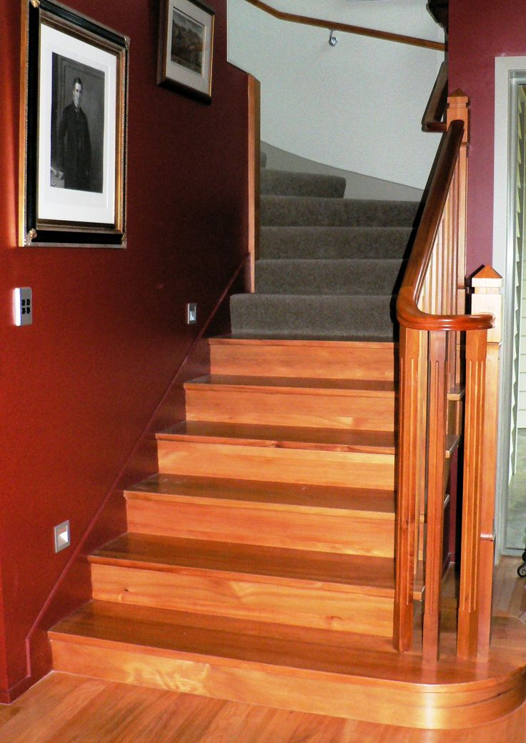For an extension or new home timber stairs can make a difference