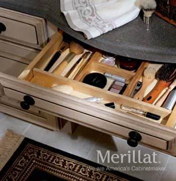 Delightful For Bathroom   Knee Drawer Dividers