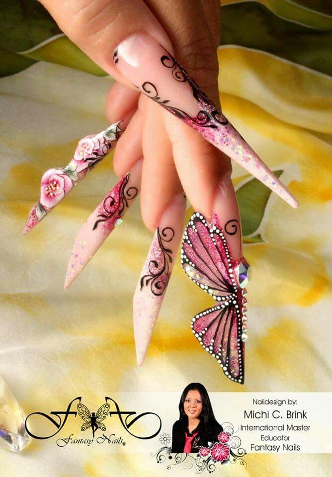 45 best Long Stiletto Nails images on Pinterest | Nail scissors ...