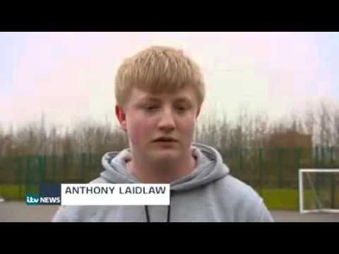 ITV Tyne Tees news features Sport Works and Traineeships - YouTube