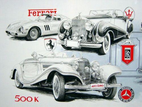 Best Vintage Car Images On Pinterest Vintage Cars Car And