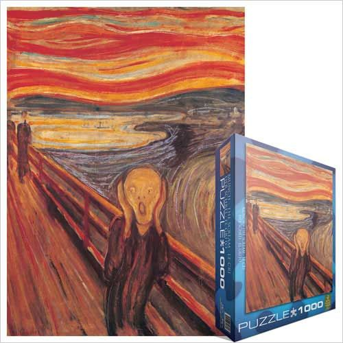 The Scream, by Edvard Munch at Eurographics - CLASSIC