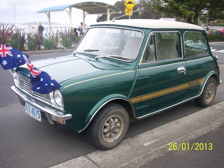 1978 Leyland Mini 998 LS Clubman Coupe located Tas. For sale May 2013. Very rare original green.