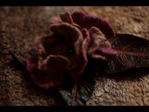Video Tutorial: Valya fiori di lana che utilizzano dissuasori - Fiera Masters - artigianale, fatto a mano