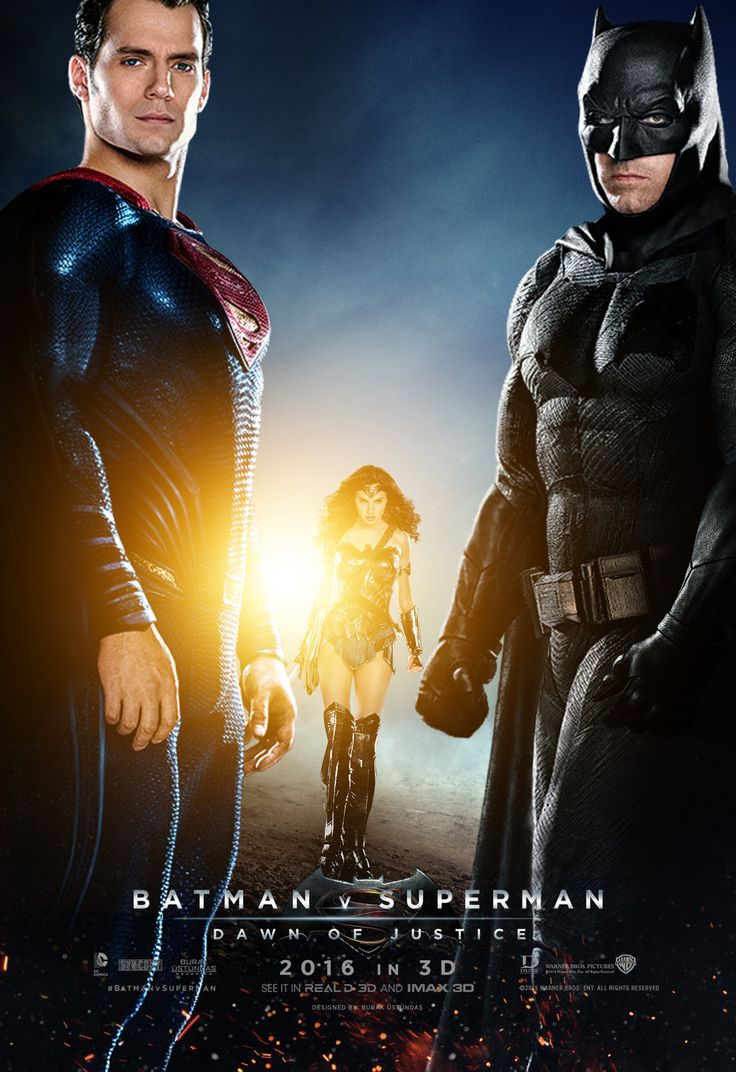 Batman v Superman: Dawn of Justice Movie Posterby Burak Rall ®....#{T.R.L.}