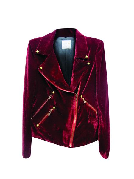 Not sure whether I love it or hate it lol.. leaning towards love it though hahah http://shop.nylonmag.com/collections/whats-new/products/velvet-moto-jacket #NYLONshop