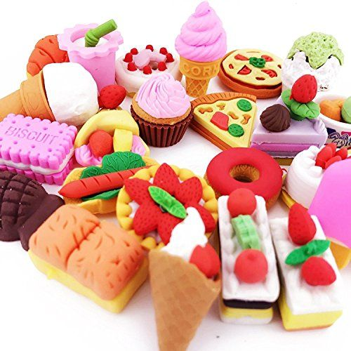 Hulless Pencil erasers Kitchen food cake dessert Removable Assembly Erasers Puzzle Toys Best for Party Favors, School Classroom Novelty Toys. - http://partysuppliesanddecorations.com/hulless-pencil-erasers-kitchen-food-cake-dessert-removable-assembly-erasers-puzzle-toys-best-for-party-favors-school-classroom-novelty-toys.html
