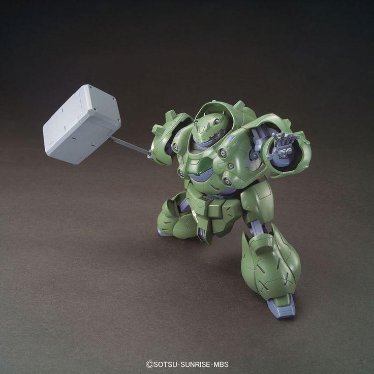 1/144 HG Gundam Gusion | Iron-Blooded Orphan Gundam | Gunpla | Military Sci-Fi Animé| Mecha Scale Model