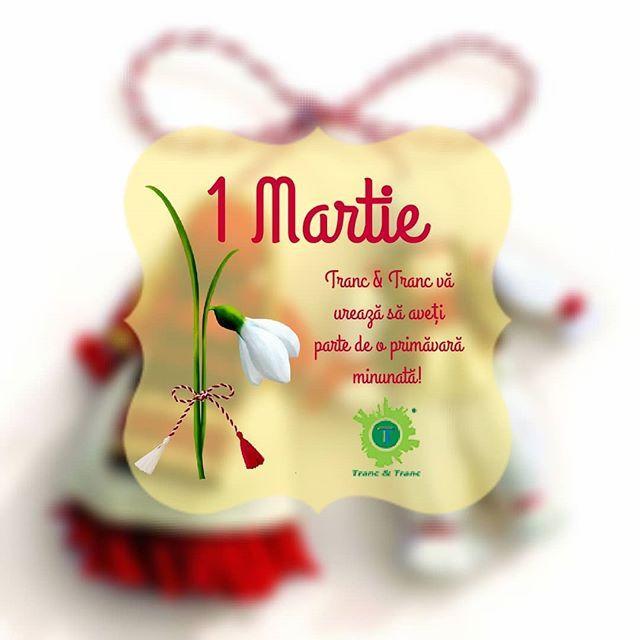 Tranc & Tranc va ureaza sa aveti parte de o primavara minunata!  #1martie #primavara #TrancAndTranc #ghiocei #floricele #soare #caldura #dragoste #viata