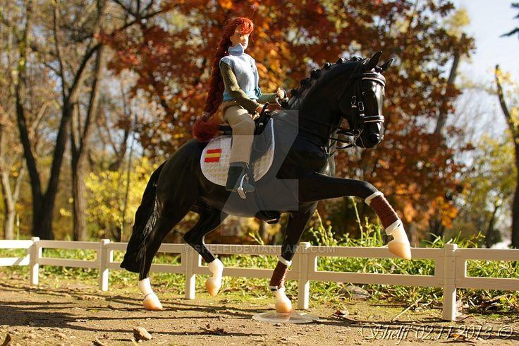 Studious horse by Shelfi.deviantart.com on @DeviantArt