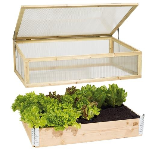 greenhouse addon for pallet-garden