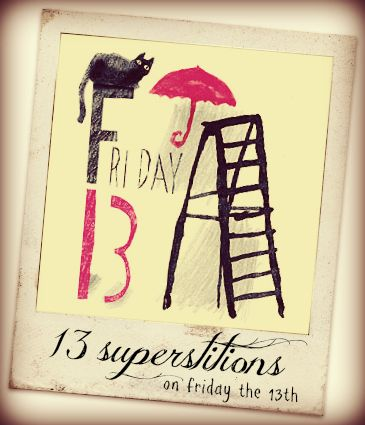 Black cats, broken mirrors, full moons: Superstitions come in many different shapes and sizes. Gaiam TV staffer Raenae discusses 13 of the most common superstitions on this Friday the 13th.