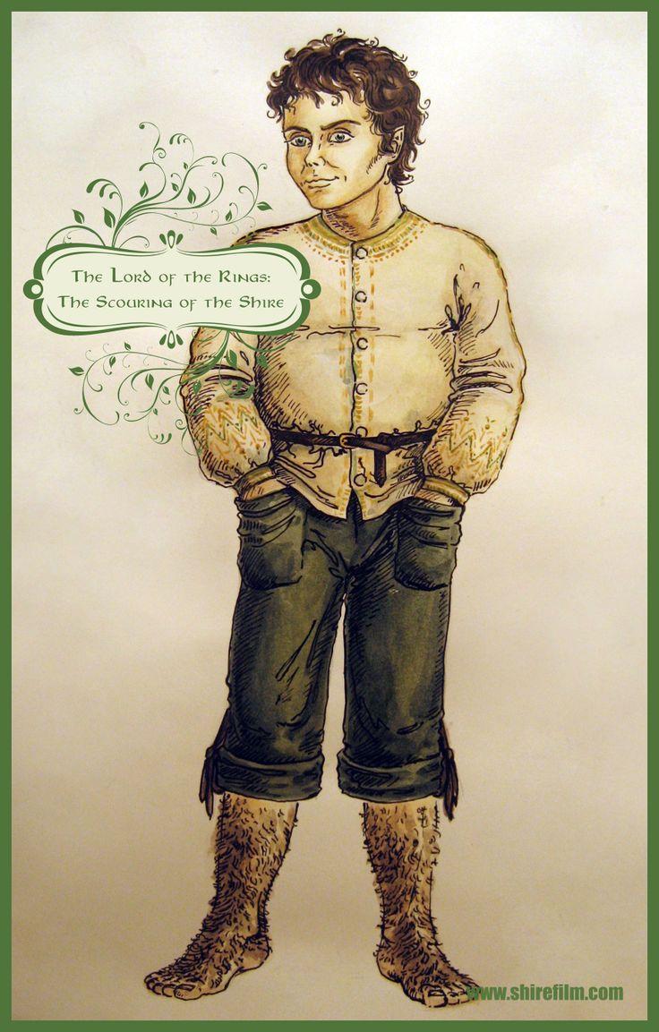 Frodo. Concept-art by Christina Goupil.