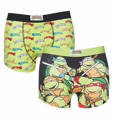 Official men's #teenage mutant ninja #turtles 2 pack boxer #shorts in gift box,  View more on the LINK: http://www.zeppy.io/product/gb/2/272413605784/