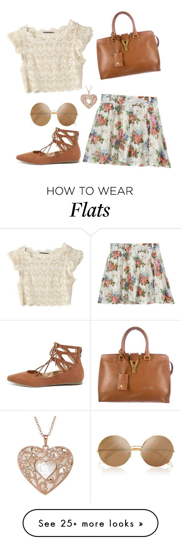 """Untitled #849"" by chanelover01 on Polyvore featuring Liliana, Victoria Beckham and Yves Saint Laurent"