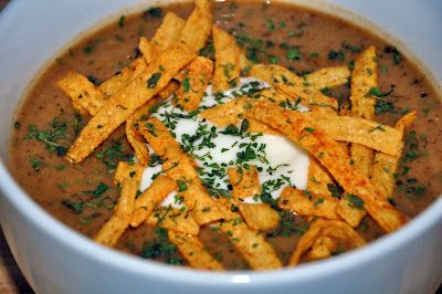 Great Blender Recipes: Blended Southwestern Potato Soup
