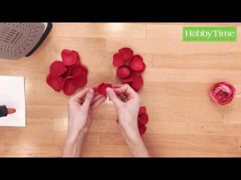 Hobby Time Пионовидная роза из фоамирана