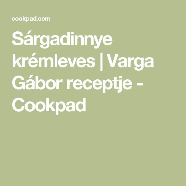 Sárgadinnye krémleves | Varga Gábor receptje - Cookpad