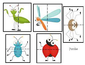 Preschool Printables: Free Fun Bug Mini Printable