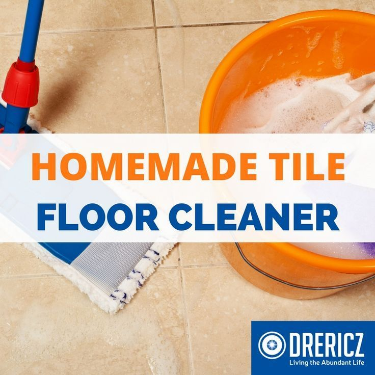 Make this non-toxic homemade tile cleaner to make your floors sparkle and bath tub shine. This DIY tile cleaner recipe uses only a few ingredients.