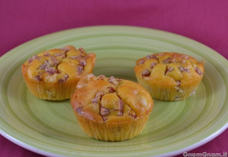 Scopri la ricetta di: Muffin salati mortadella e provolone