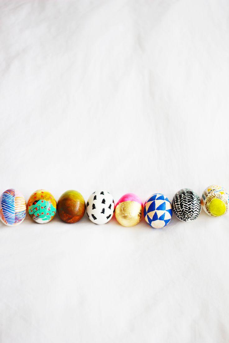 eat sleep cuddle: painted eggs