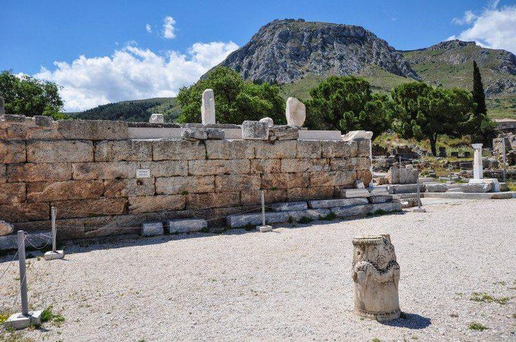 The Bema, Where Ap. Paul Spoke To The People Of Corinth