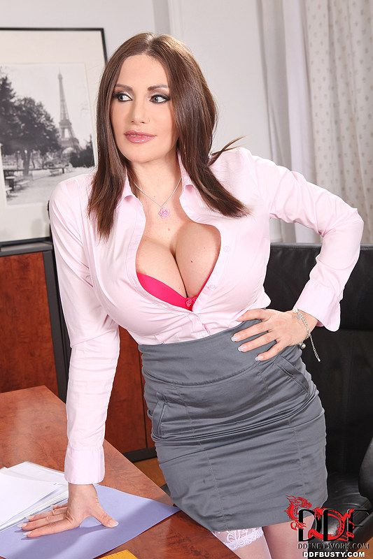 Getting busty secretary blowjob how make