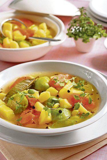 Polhodinovka: Rýchla zemiaková polievka