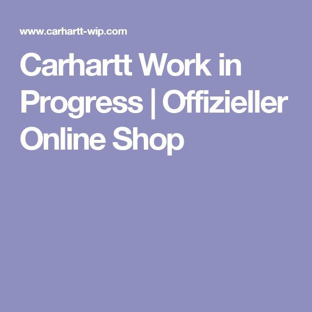 Carhartt Work in Progress | Offizieller Online Shop