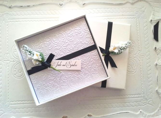 FLORAL DESIGN IN QUARTZ & LUSTRE PAPERS ALL BOXED by bw reporter