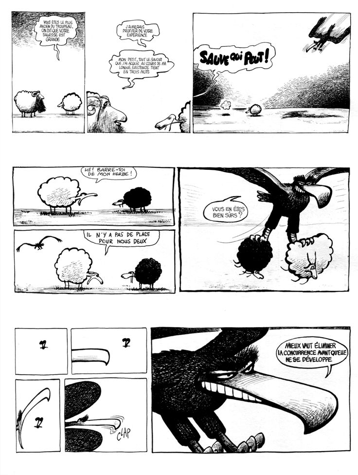 """Le Baron Noir"" (The Black Baron), french comic strip drawed by Got and written by René Pétillon, initially published in the daily paper ""Matin de Paris"", from 1976 to 1981."