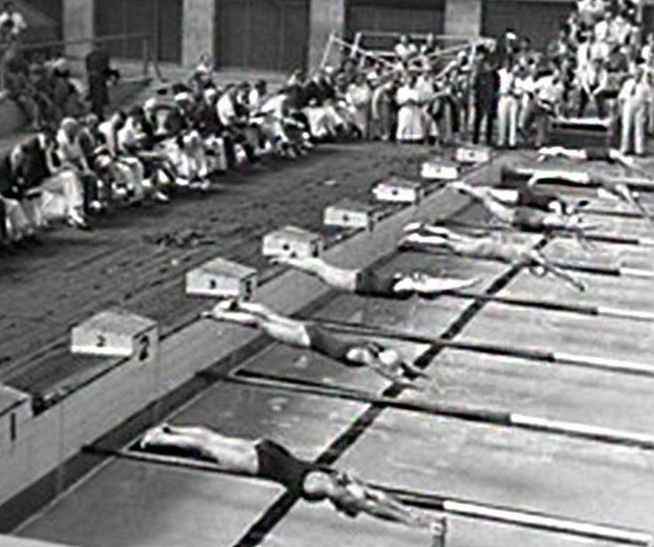 #ThrowBackThursday, #swimming became an official #Summer #OlympicGames sport for men in 1896 and for woman in 1912. #IslandPools