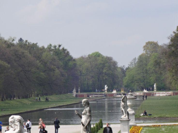 Giardino del castello  di Nymphenburg!!!
