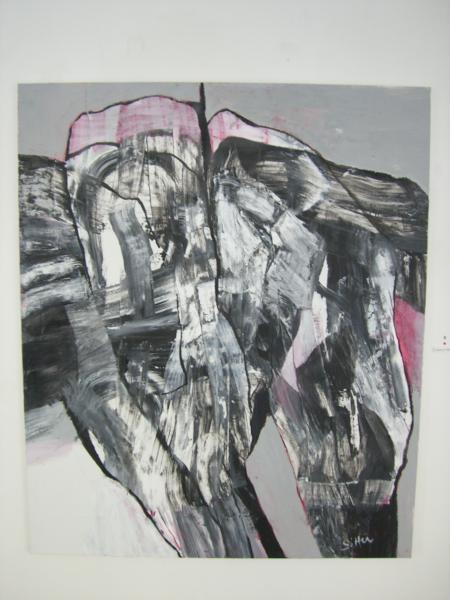 Inger Sitter/Lettende, 2005