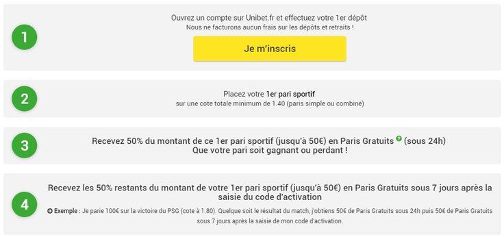 Bonus 100€ de paris gratuits sur Unibet   > http://wallabet.fr/bookmakers/unibet/bonus-unibet/