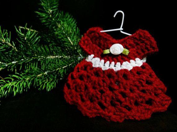 Miniature Ornaments  Keepsake Ornaments  by AichasDesigns on Etsy