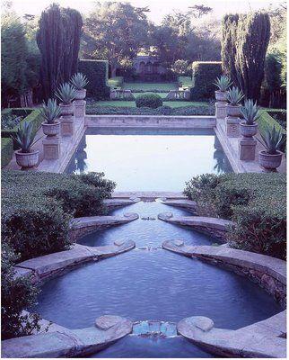 garden: Lasteja, Water Gardens, Santa Barbara, Landscape Design, Water Features, Pools Gardens, Pictures, Outdoor Spaces, Las Teja
