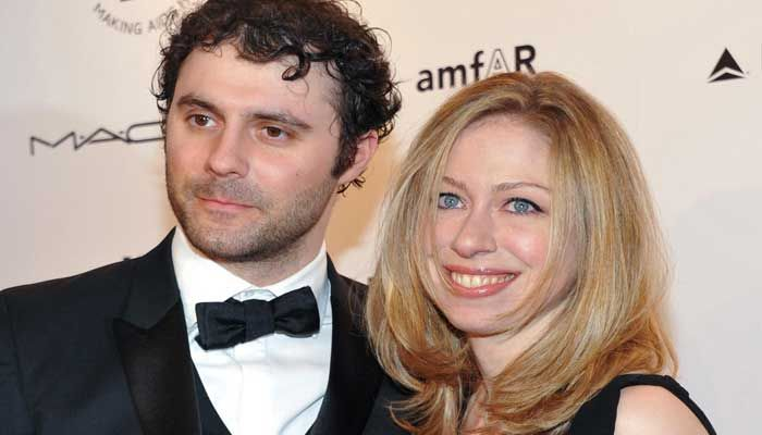The husband of Chelsea Clinton, daughter of former President Bill Clinton and former Secretary of State Hillary Clinton, just shut down