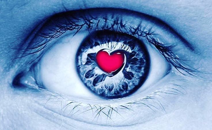 Love is in your eyes