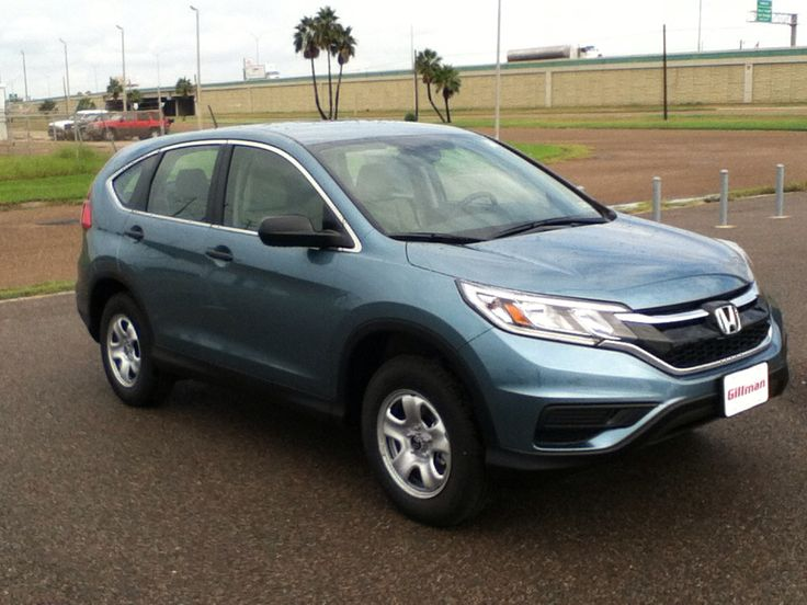 The 2015 Honda CR-V LX! Come see it at Gillman Honda in San Benito Texas!